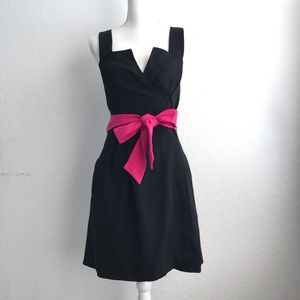 Diane Von Fustenberg Black Wrap Dress